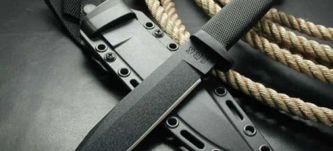 Ношение холодного оружия: общие сведения, наказание