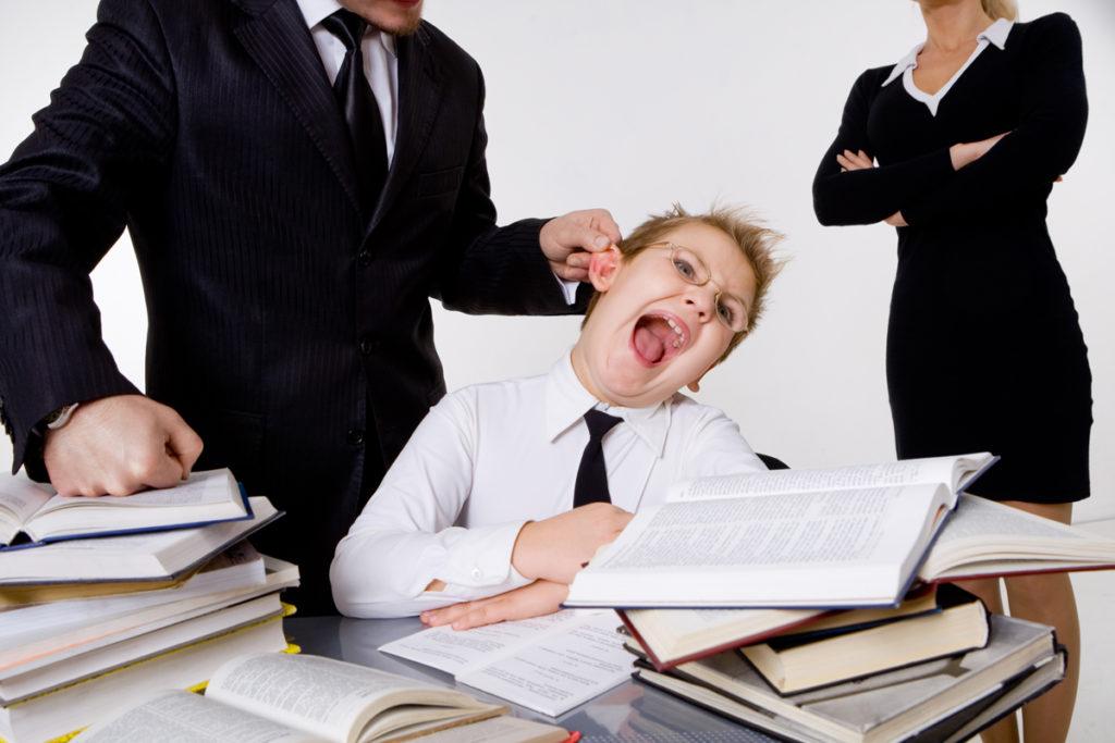 Учитель ударил ученика
