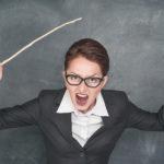 Ответственность учителя за оскорбление