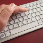 Закрытая клавиатура